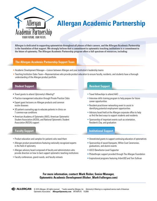 Allergan Academic Partnership
