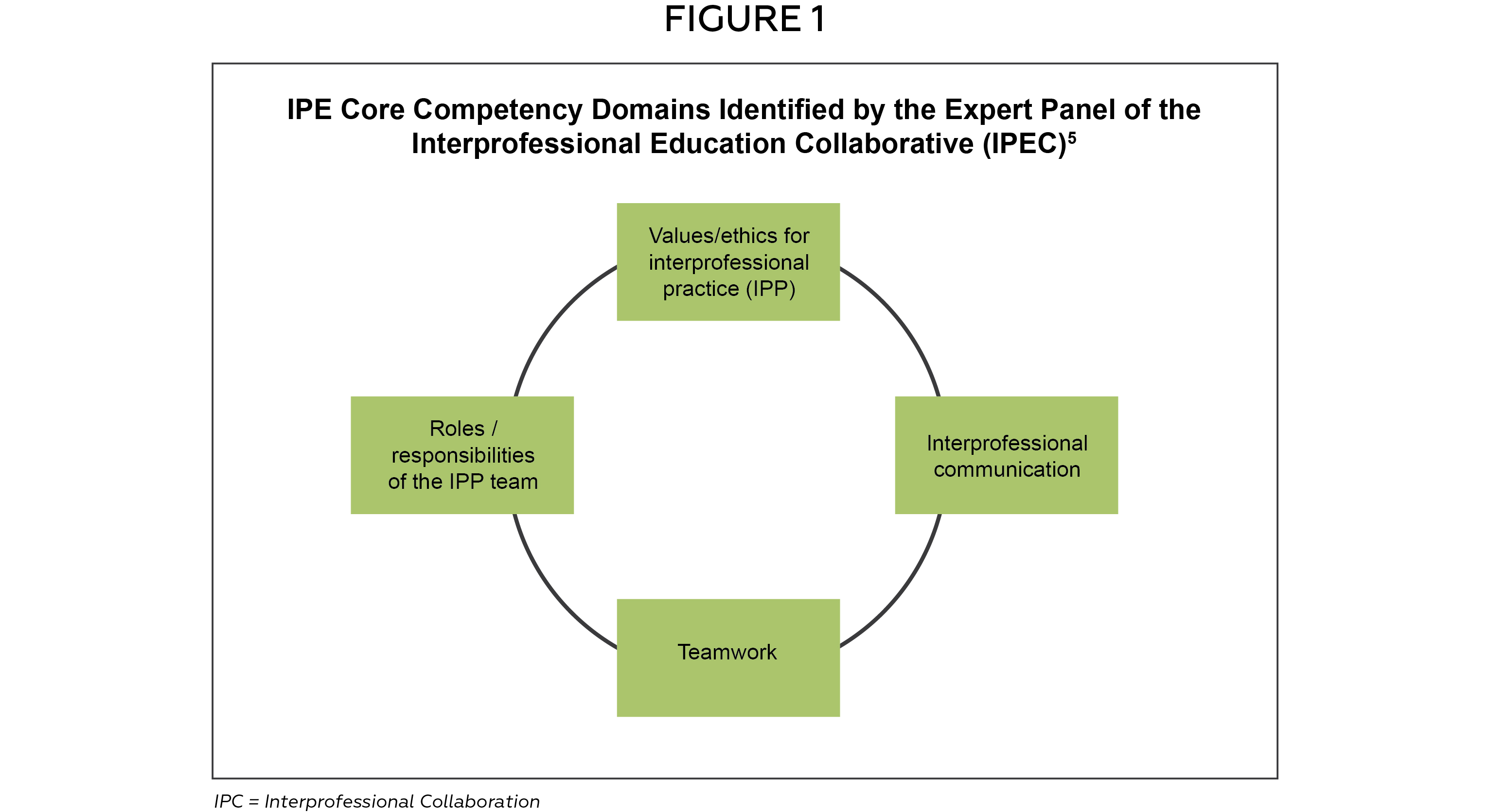 The Implementation and Assessment of an Interprofessional Education