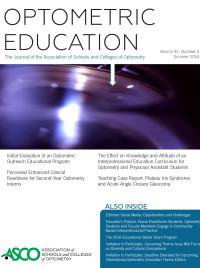 OptometricEducation_v41n3_cover